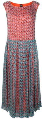 Aspesi geometric printed dress