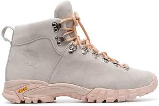 Diemme grey Maser lace-up suede hiker boots