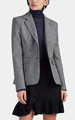 Altuzarra Women's Fenice Prince Of Wales Checked Wool Two-Button Blazer - Black Pat.