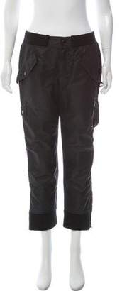 Marc Jacobs Structured Mid-Rise Cargo Pant