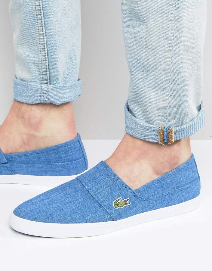 LacosteLacoste Marice Chambray Slip On Sneakers