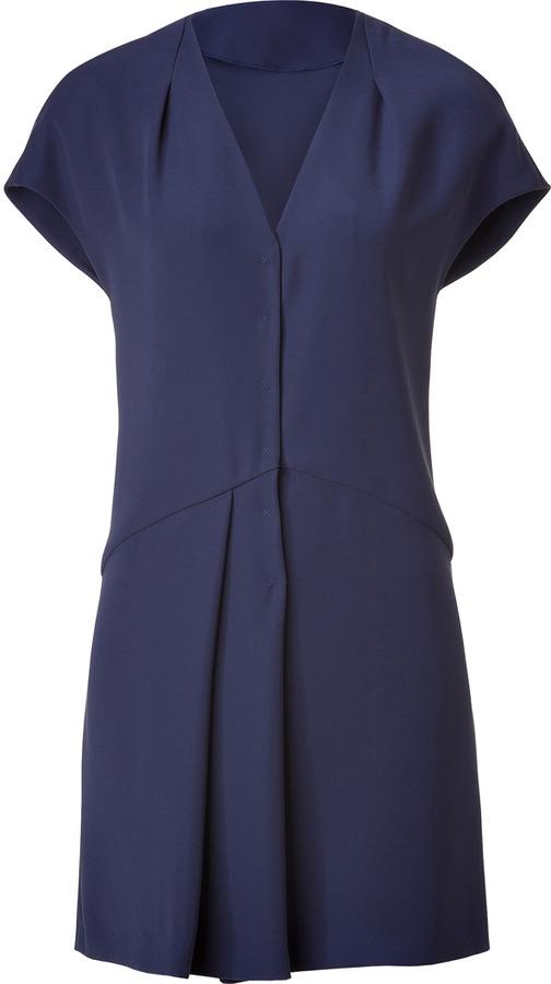 Cacharel Smoke Blue Dress