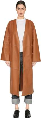 Loewe Patchwork Leather Coat