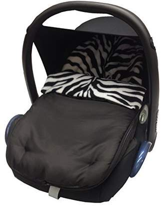 Maxi-Cosi Animal Print Car Seat Footmuff/Cosy Toes Compatible with Cabrio/Pebble - Zebra