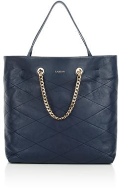 Lanvin Women's Carry Me Tote-NAVY $1,990 thestylecure.com