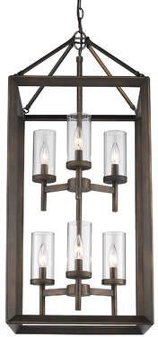 Three Posts Thorne 6-Light Hanging Foyer Pendant