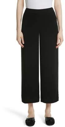 Yigal Azrouel Step Hem Wide Leg Crop Pants