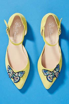 Ballerina Butterfly City Flats