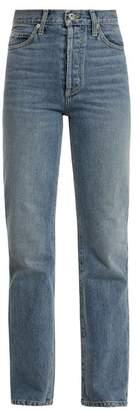Eve Denim - Juliette High Rise Straight Leg Jeans - Womens - Denim