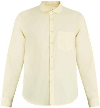 Martine Rose Monogram-embroidered cotton-twill shirt