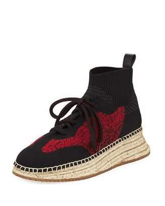 Alexander Wang Dakota Knit High-Top Sneakers
