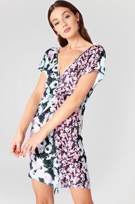 NA-KD Na Kd Drawstring Mini Dress