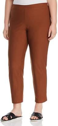 Eileen Fisher Plus Slim Ankle Pants