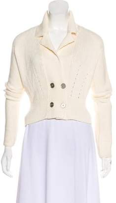 Max Mara Lightweight Double-Breasted Sweater