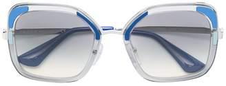 Prada Cinéma oversized sunglasses