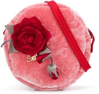 Miss Blumarine floral embellished crossbody bag