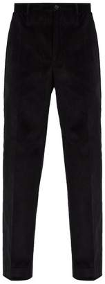 Cobra S.C. Cobra S.c. - Classics Cotton Corduroy Trousers - Mens - Black
