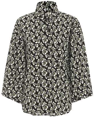 Marni Floral-printed cotton shirt