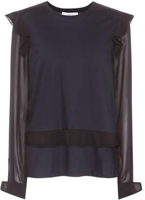 Schumacher Dorothee Feminine Finesse cotton and silk top