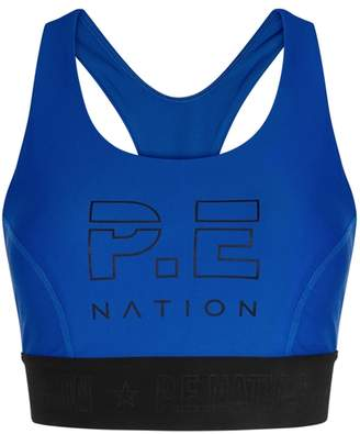 P.E Nation Groundstroke Cobalt Bra Top