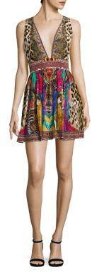 Camilla Kingcall Silk Short Dress $400 thestylecure.com