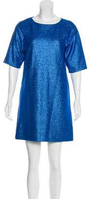 Tibi Metallic Mini Dress w/ Tags