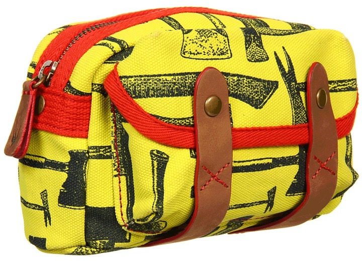 Loquita - Axe Tab Cosmetic (Lime Linen) - Bags and Luggage