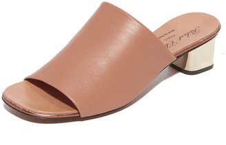Robert Clergerie Block Heel Sandals $495 thestylecure.com