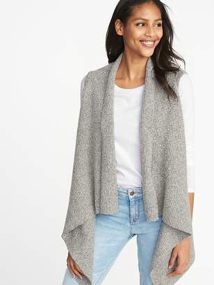 Old Navy Open-Front Sweater-Knit Vest for Women