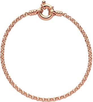 Links of London Rose Gold Vermeil Mini Belcher Chain Bracelet