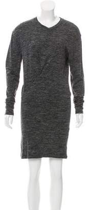 Etoile Isabel Marant Long Sleeve Knee-Length Dress