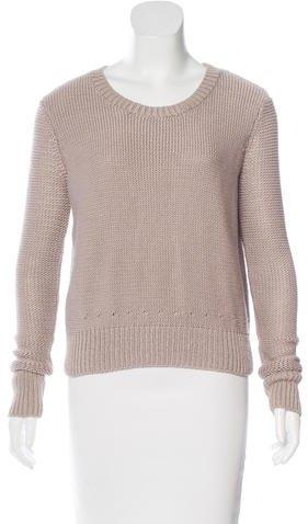 Alexander WangT by Alexander Wang Crew Neck Pullover Sweater