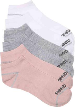 Reebok Low Lurex No Show Socks - 6 Pack - Women's