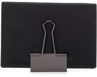 Off-White binder clip card case