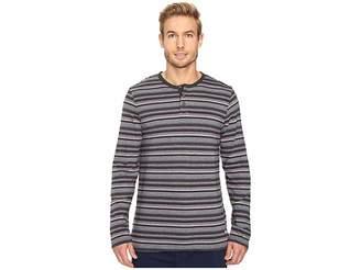 Tommy Bahama Yarn-Dye Cotton Modal Jersey Long Sleeve Henley Men's Long Sleeve Pullover