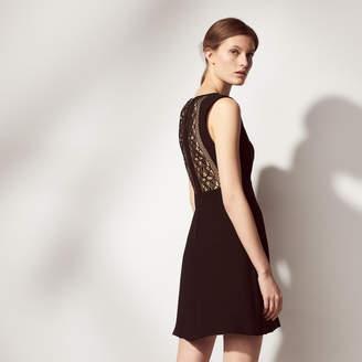 Sandro Sleeveless dress, lace back