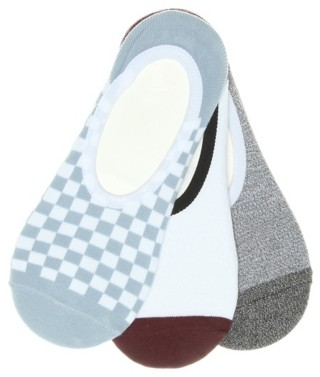 Vans Checkered Women's No Show Liners - 3 Pack