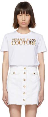 Versace White Logo T-Shirt