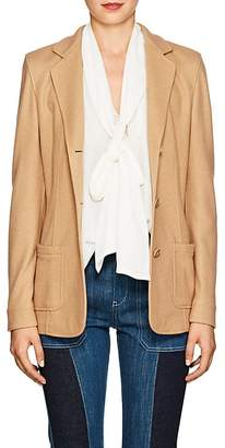 Xo Barneys Colombo Women's Cashmere-Silk Fitted Three-Button Blazer