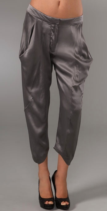 Rich & Skinny Silk Harem Trousers