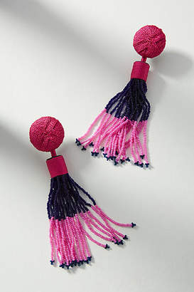 Mignonne Gavigan Madison Beaded Tassel Drop Earrings