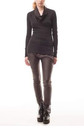 Cora Groppo coragroppo Remera Cowl Sweater