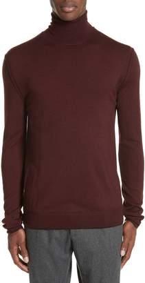 Boglioli Trim Fit Turtleneck Wool Sweater