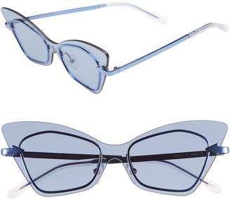 Karen Walker Mrs. Brill 53mm Cat Eye Sunglasses