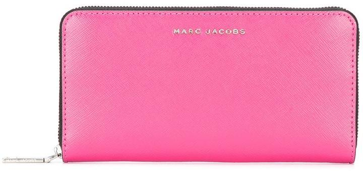 Marc Jacobs Marc Jacobs bi-colour continental wallet