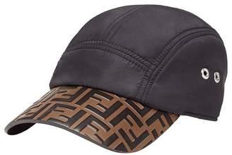 Fendi logo embossed baseball cap