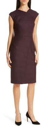 BOSS Dechesta Glen Plaid Sheath Dress