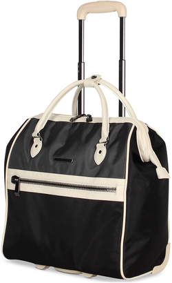BCBGMAXAZRIA Luxe Wheeled Under-Seat Carry-On Suitcase