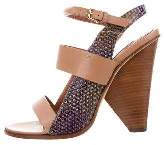 Derek Lam Trey Crossover Sandals w/ Tags discount prices sale 100% guaranteed outlet under $60 outlet cheap prices WBqQc0u