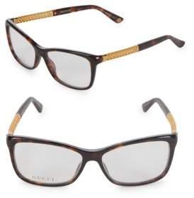 Gucci Oval 50MM Optical Frames